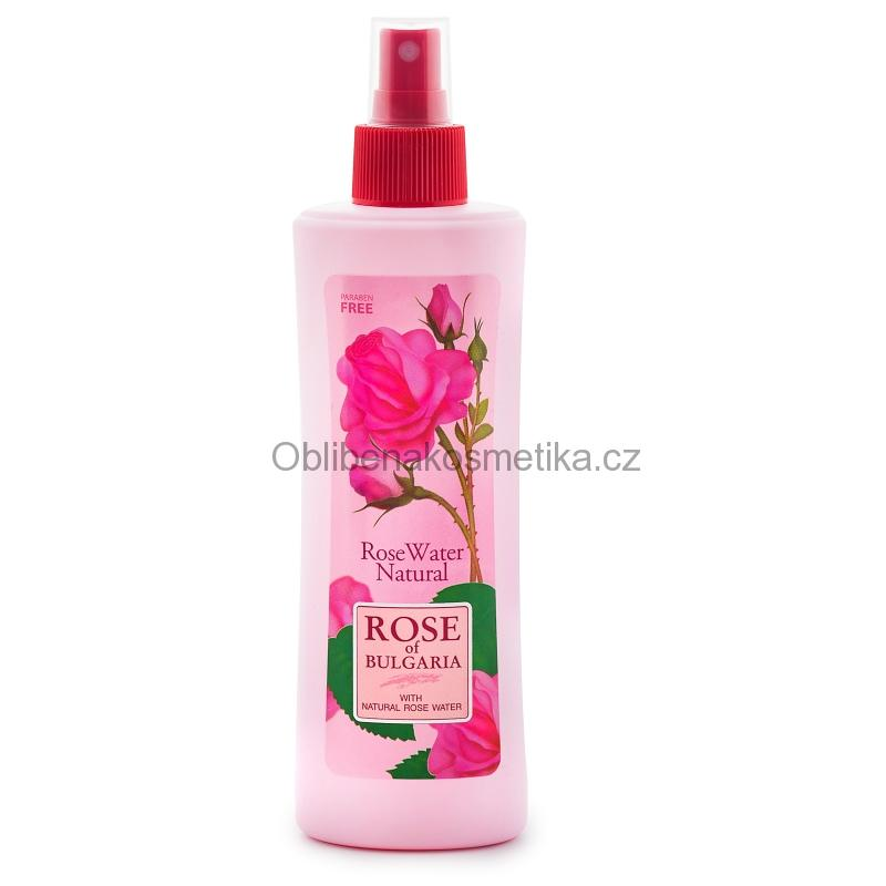 Naturální růžová voda spray 230 ml Rose of Bulgaria BioFresh