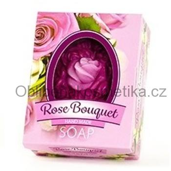 Glycerinové mýdlo Rose BOUQUET 50 g BioFresh