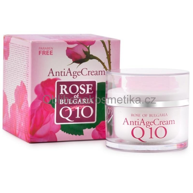 Anti age krém Q10 Rose of Bulgaria 50ml BioFresh
