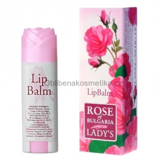 Balzám na rty Rose of Bulgaria 5 ml BioFresh